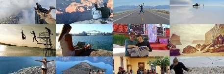 Sample of photos of studying abroad.